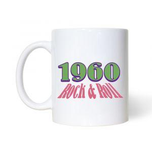 60's Rock & Roll Mug