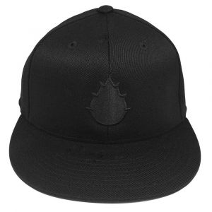 Flexfit Premium Fitted Black Cap