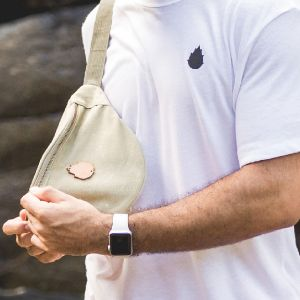 Pitahaya Cream/Natural Fanny Pack