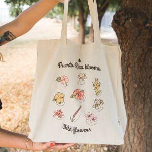 PR Blooms Tote Bag