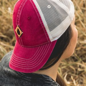 Raspberry Trucker Cap