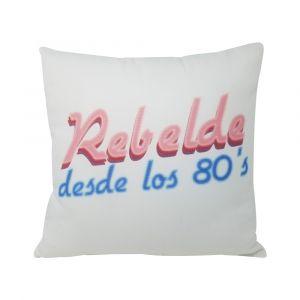 Rebelde desde los 80' s Pillow