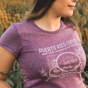 Tierra de Café Ladies' T-Shirt